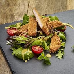 A Séf salátája rántott csirkemellel és ajándék üdítővel