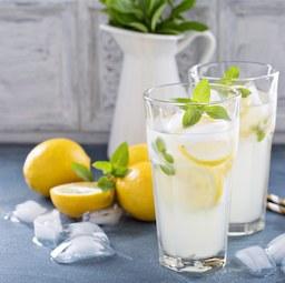 Ajándék házi limonádé