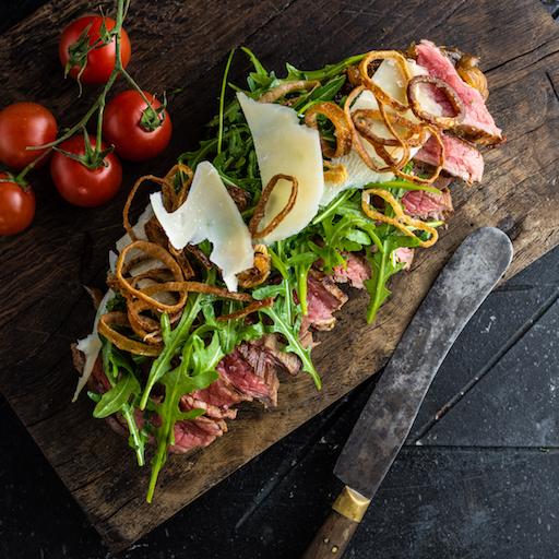 BRKLYN Steak szendvics + ROSE A'LA BRKLYN