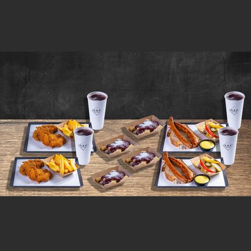 4 fős ebéd vagy vacsora kupon a Séf Asztalában